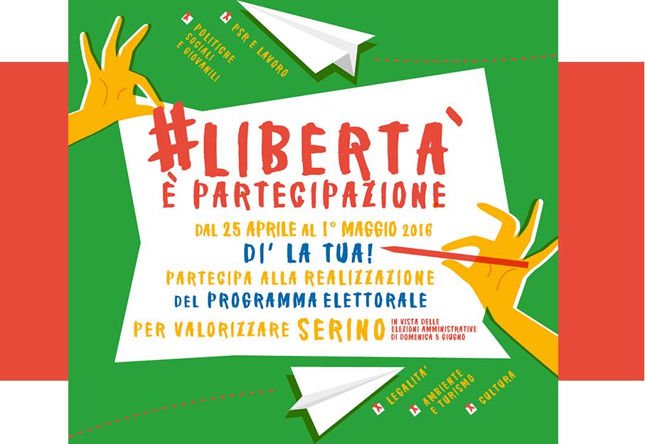 """Il Circolo PD di Serino lancia: """"Libertà è partecipazione"""" per coinvolgere direttamente iscritti e cittadini"""
