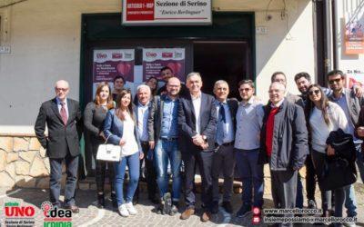 Rocco e Delle Grazie formano, a Serino, il gruppo consiliare di Articolo Uno – MDP