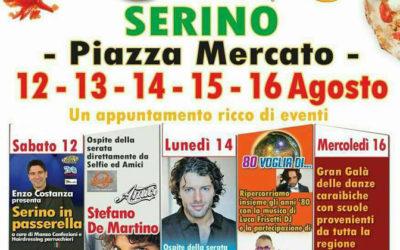 Grandi eventi in Campania. A Serino, dal 12 al 16 Agosto, il Gran Galà della Pizza – RASSEGNA STAMPA