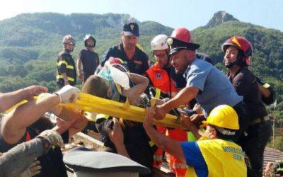 Gli angeli della Misericordia di Serino a Ischia per il terremoto – REPORTAGE irpinianews.it, FOTO & VIDEO
