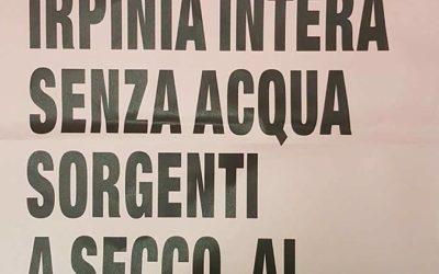 AGGIORNAMENTO emergenza idrica – 19 Settembre 2017 ore 15.00 – Serino/Irpinia – VIDEO