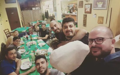 Alla pizzeria Made in Italì con i volontari dell'Associazione Hirpo Escursioni ✌🌄🚵