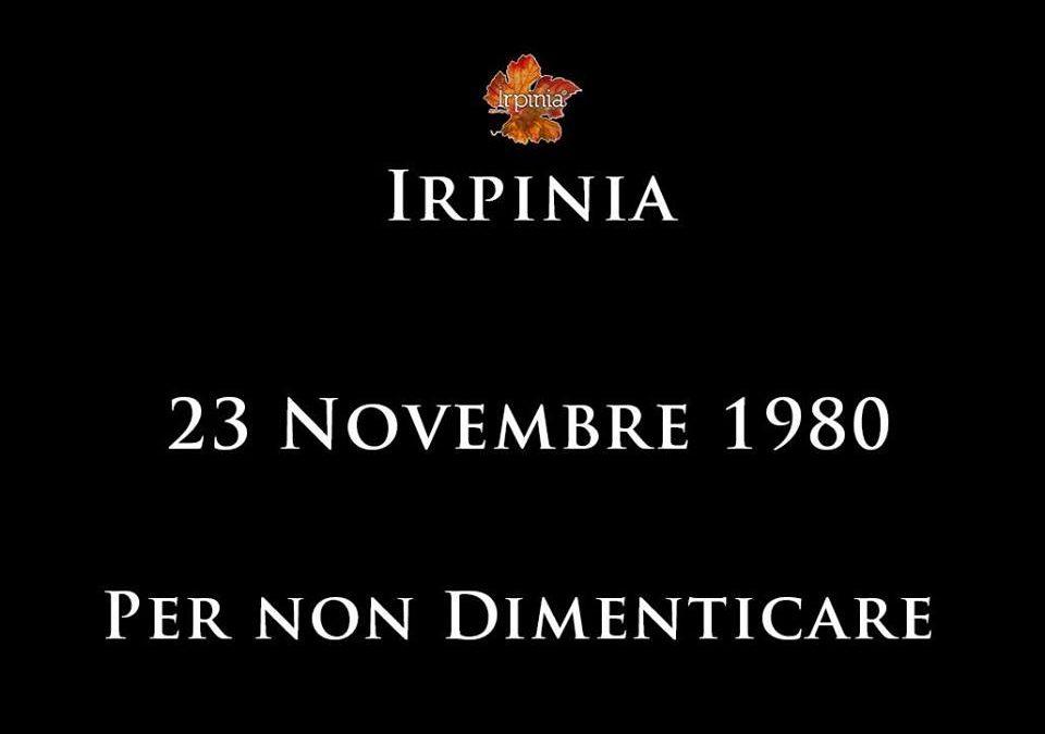 23 Novembre 1980. La memoria ha valore se si impara da quest'ultima altrimenti diventa vuota retorica