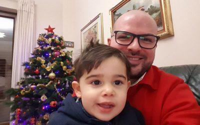 Oggi ho finalmente riabbracciato il mio adorato nipotino Federico Rocco dopo il Consiglio comunale