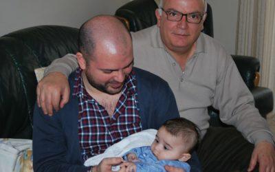 Auguri di buon compleanno a mio padre Federico ✊❤🍀