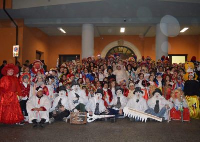 2018-02-13 Mascarata serinese 2018 - Foto di gruppo