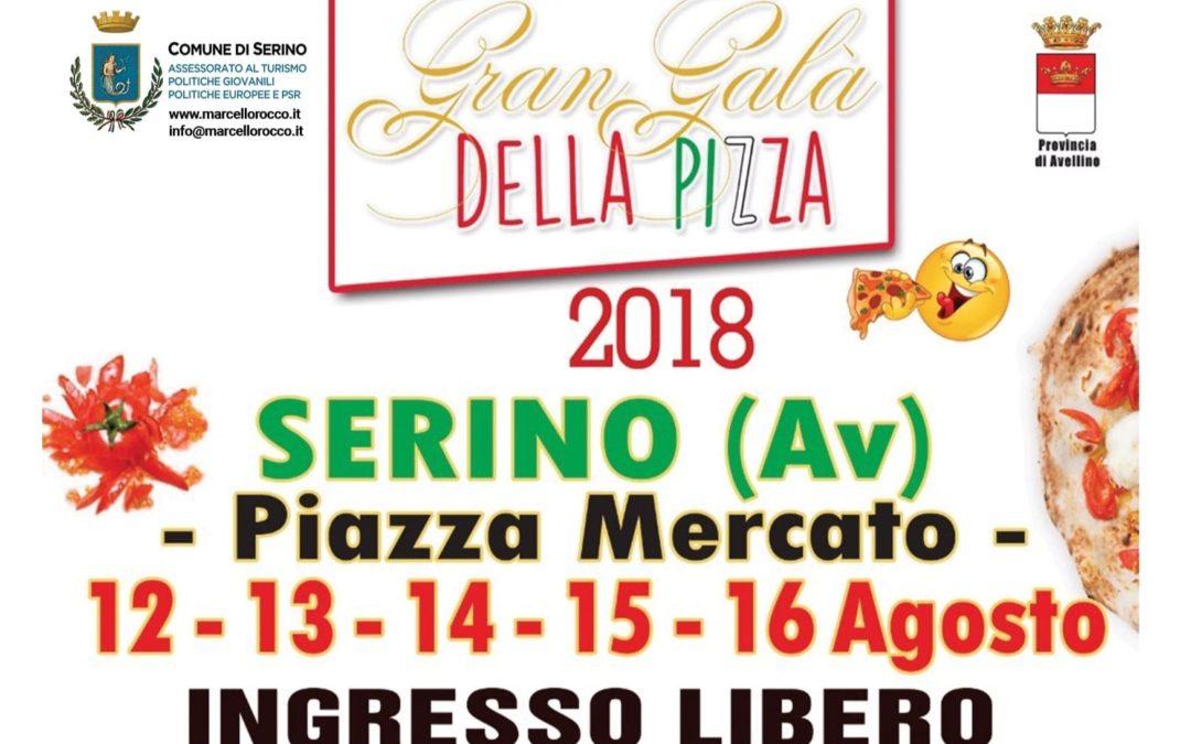 Sulla scena regionale, dal 12 al 16 Agosto, torna il Gran Galà della Pizza di Serino – RASSEGNA STAMPA