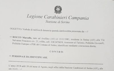Difendiamo la nostra terra. Denunciamo, alle Autorità competenti, i reati ambientali! – Rassegna stampa, video, Denuncia ai Carabinieri e Atti amministrativi in allegato