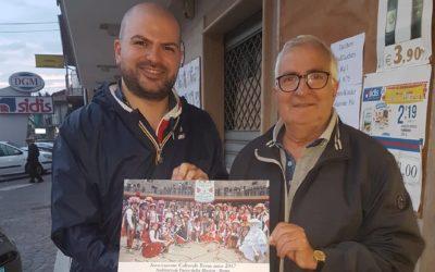 """Con il Presidente dell'Associazione """"RIVUS Mascarata Serienese"""" per condividere e scambiare idee"""