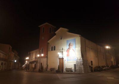 01 Chiesa Maria SS della Neve di Sala di Serino aspettando la Reliquia di San Giovanni Paolo II