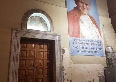 02 Chiesa Maria SS della Neve di Sala di Serino aspettando la Reliquia di San Giovanni Paolo II