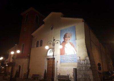 04 Chiesa Maria SS della Neve di Sala di Serino aspettando la Reliquia di San Giovanni Paolo II