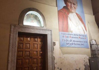 05 Chiesa Maria SS della Neve di Sala di Serino aspettando la Reliquia di San Giovanni Paolo II