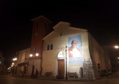 06 Chiesa Maria SS della Neve di Sala di Serino aspettando la Reliquia di San Giovanni Paolo II
