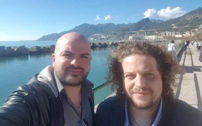 Intensa mattinata, tra Salerno e Serino, per tracciare progetti presenti e futuri con il Maestro Luciano e la Sonora Junior Sax