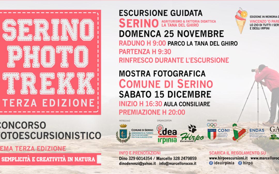 Serino Photo Trekk 3° edizione in memoria del gelataio Vincenzo 'o parente, lo zio di tutti gli irpini – RASSEGNA STAMPA, REGOLAMENTO & MENU' CONVENZIONATO