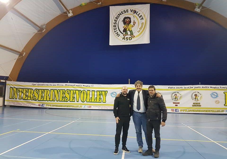 Alla presentazione della stagione 2018/2019 dell'Interserinese Volley per un nuovo anno fatto di passione e impegno