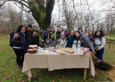02 foto di gruppo Serino Photo Trekk 3 edizione - 09-12-2018