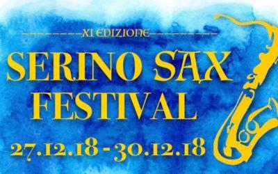 """A Serino, dal 27 al 30 Dicembre, l'XI edizione del """"Serino Sax Festival"""" con gli artisti internazionali Laran e Vanni – PROGRAMMA, VIDEO SPOT & RASSEGNA STAMPA"""