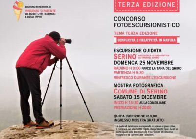 Locandina - NEW - formato WEB - Serino Photo Trekk - 3 edizione