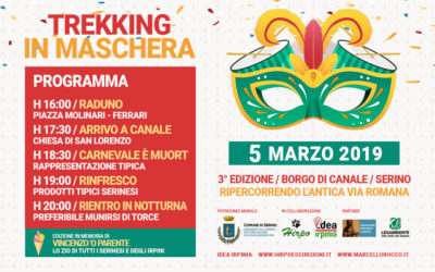 Mascarata Serinese, Carnevale Princeps Irpino e Trekking in Maschera. Il calendario 2019 completo – PROGRAMMI & RASSEGNA STAMPA