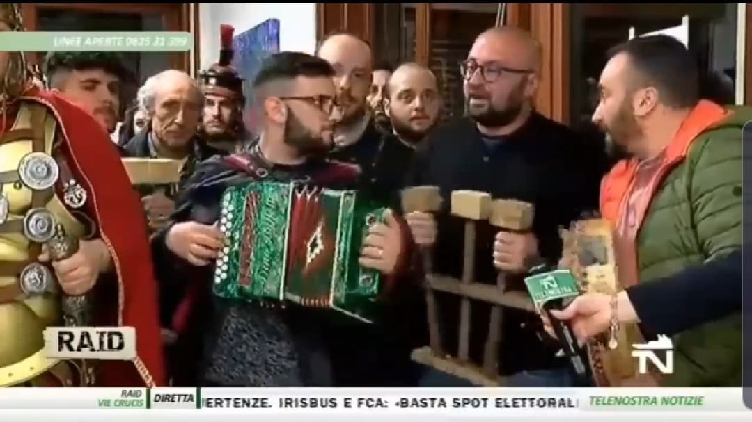 Serena Pasqua all'insegna delle tradizioni che rendono Serino e l'Irpinia posti unici nel loro genere ❤ FOTO & VIDEO