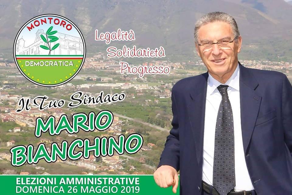 L'endorsment al Sindaco Mario Bianchino e alla lista Montoro Democratica rappresenta un sostegno alla buona politica