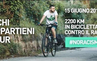 Simone, 2.200 km in bici, dall'Irpinia all'Albania per dire no al razzismo – VIDEO Irpinia Tv & INTERVISTA a piueconomia.com