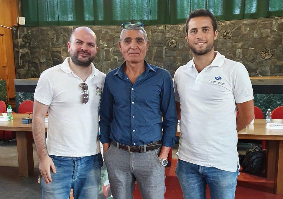 """Pronti per """"Napoli 2019 Summer Universiade"""" con il campione olimpico di pugilato Oliva ed il Presidente Caruso – VIDEO"""