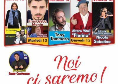 Locandina Serino Summer Festival 2019