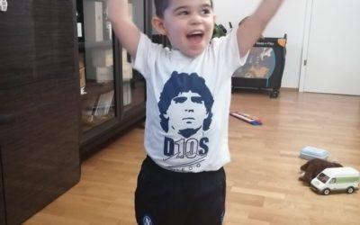 Felice compleanno al mio nipotino Federico Rocco. Quattro anni d'Amore puro e incondizionato