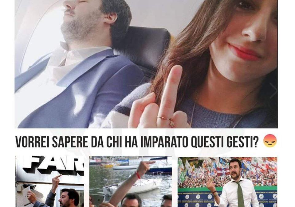 Insulti sessisti e minacce nei confronti di una diciannovenne da parte dei leghisti – FOTO & APPROFONDIMENTO