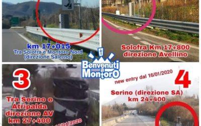 Da oggi i 4 autovelox, presenti sul raccordo AV-SA, sono tutti attivi – VIDEO IRPINIA TV