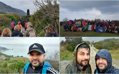 """Escursione ad Agropoli. Esercitazione sotto l'acqua per il corso da """"Operatore Escursionistico"""" ENDAS-CONI – FOTO"""