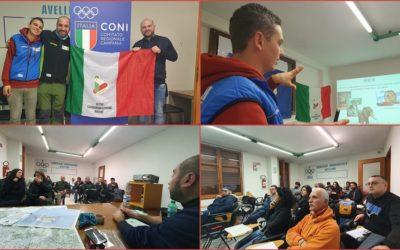 """Lezione di cartografia ed ecologia al CONI di Avellino. Continuano i corsi per """"Operatore Escursionistico"""" ENDAS–CONI – FOTO"""