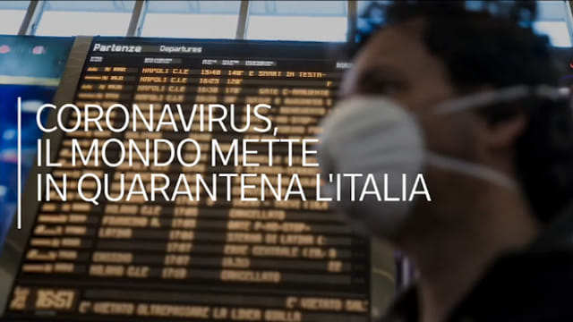 Coronavirus, Turismo in ginocchio. Il mondo mette in quarantena l'Italia – APPROFONDIMENTO