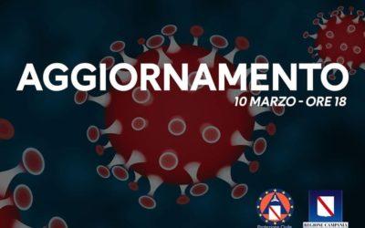 Coronavirus, aggiornamento 10 Marzo. Regione Campania – APPROFONDIMENTO