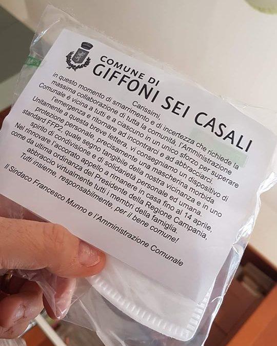 """Complimenti al Comune di Giffoni Sei Casali (SA) per aver messo a disposizione dei cittadini le mascherine """"FFP2"""" – APPROFONDIMENTO"""
