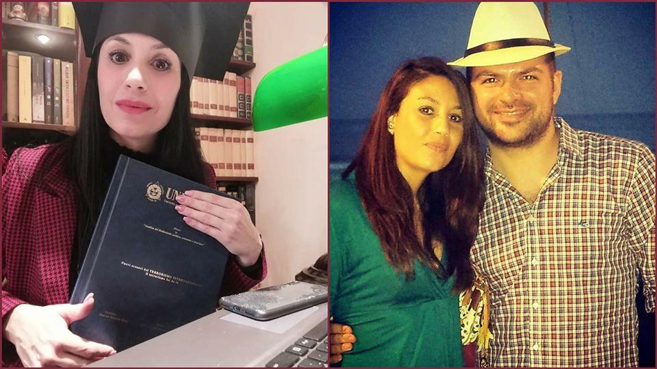 Auguri di cuore alla mia amica Valentina per il conseguimento dell'ennesimo titolo accademico