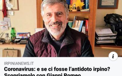 Coronavirus: Gianni Romeo, Consigliere dell'ordine dei commercialisti, spiega la sua ricetta – ARTICOLO irpinianews.it