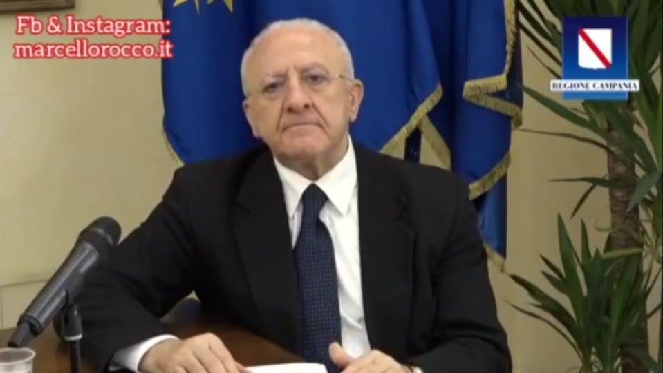 """Coronavirus, De luca: """"In Campania siamo una regione a contagio zero"""". A Serino nessuna criticità! – VIDEO & APPROFONDIMENTO"""