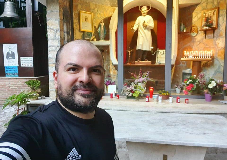 Correndo e riflettendo tra i boschi Irpini. In visita presso la cappella di San Giuseppe Moscati 🏞❤🌈 FOTO & VIDEO