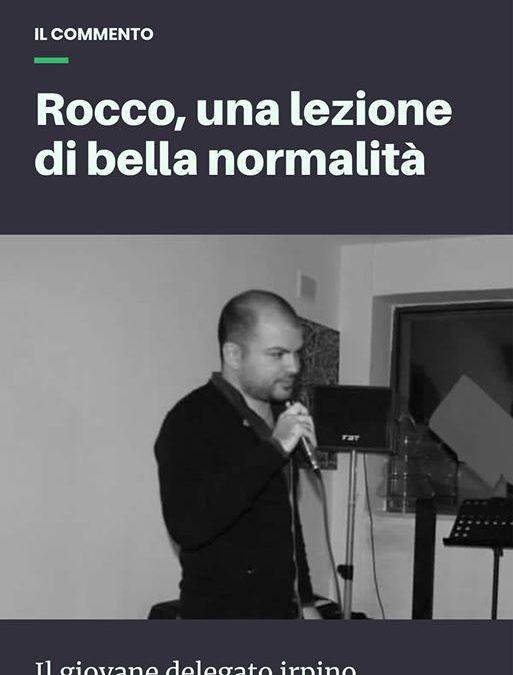 Rocco, una lezione di bella normalità – ARTICOLO orticalab.it
