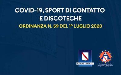 Coronavirus, Regione Campania: ok al ballo nelle discoteche ma a 2m di distanza gli uni dagli altri. Assurdo! – DOCUMENTI IN ALLEGATO
