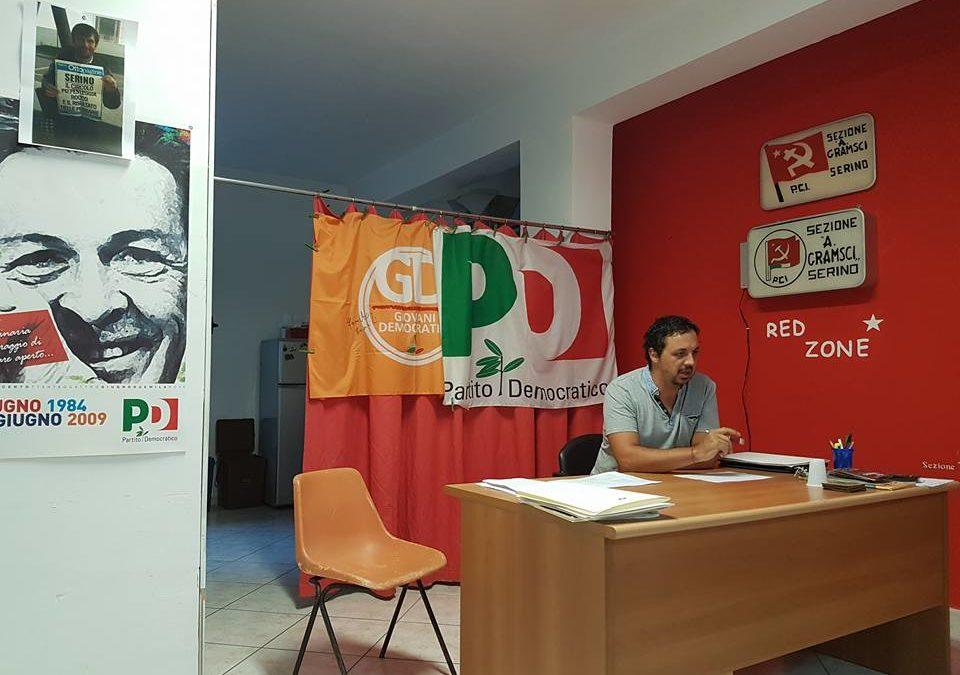 """PD Serino sull'adesione del Presidente Mariconda al gruppo """"Davvero"""""""