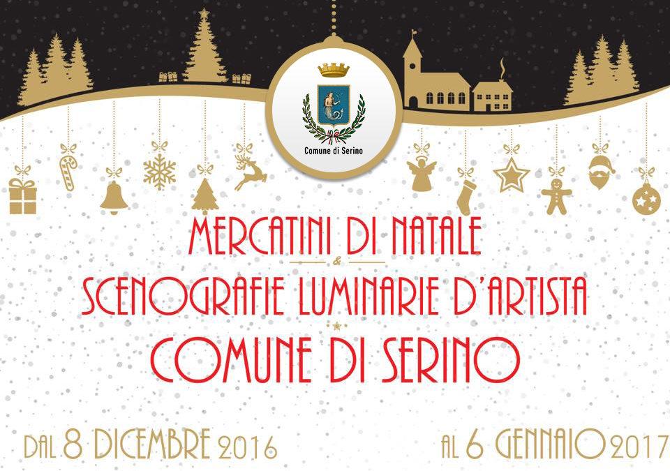 """Dall'8 Dicembre al 6 Gennaio """"La Magia del Natale"""", a Serino, con i mercatini e tante iniziative"""