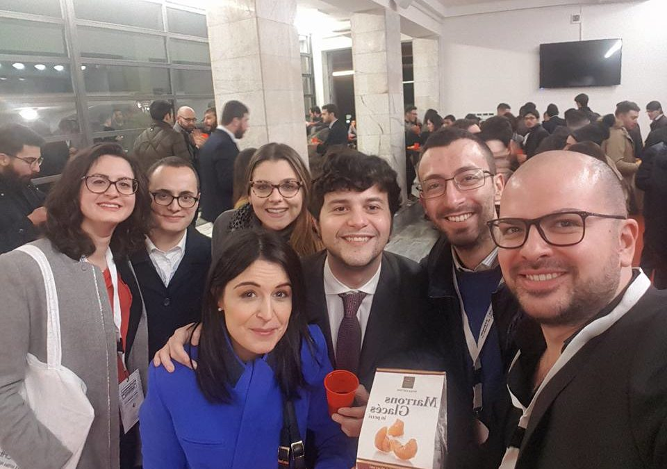 A Roma per gli Stati Generali delle Politiche Giovanili e la promozione delle eccellenze irpine