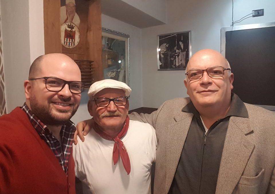 Alla pizzeria da Ciello, con mio padre Federico, per supportare le eccellenze del territorio – FOTO