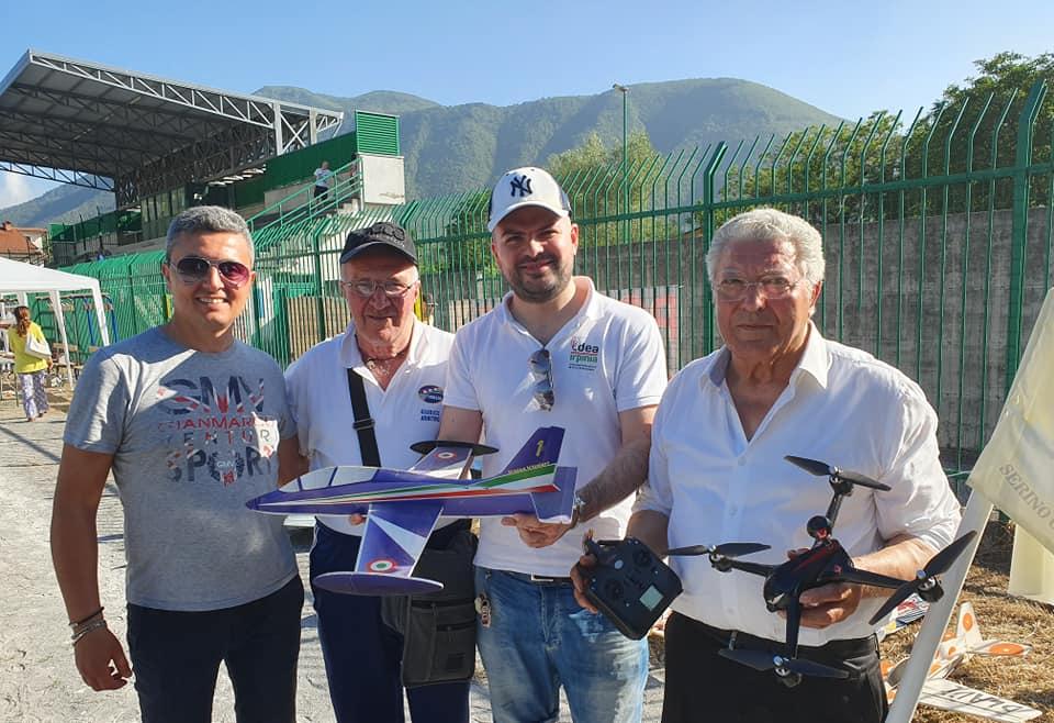Oggi a Serino il 1° raduno di aeromodellismo dinamico – FOTO