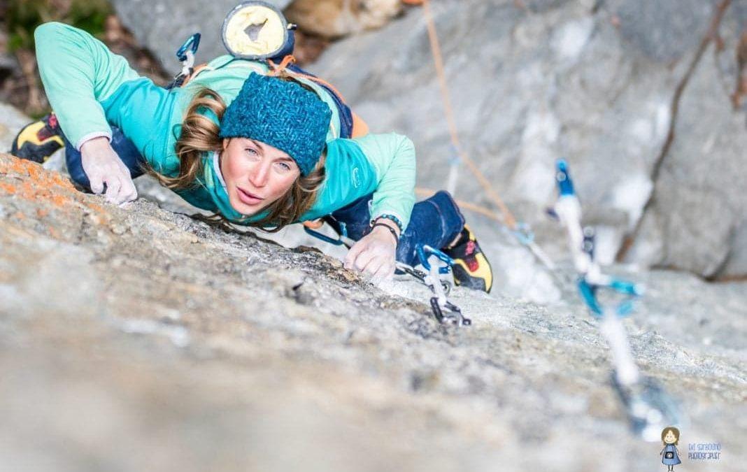Federica Mingolla, l'atleta italiana che ha scalato la Tom et Je Ris nelle gole del Verdon – INTERVISTA realizzata per stylise.it – FOTO & VIDEO